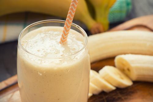 豆乳バナナ スムージー