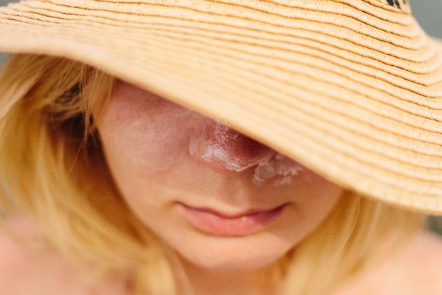 花粉症 帽子