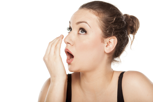 膿栓:臭い玉