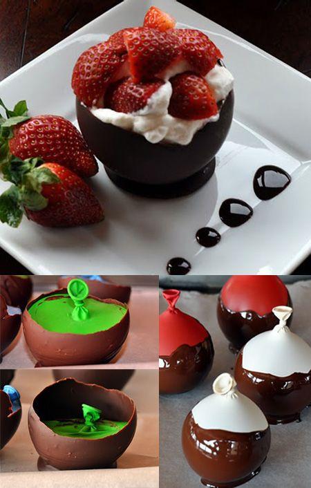 チョコのお皿