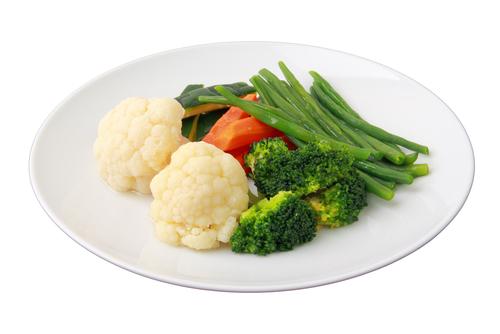 夜食 温野菜