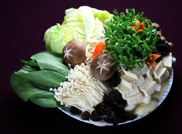 野菜たっぷり食物繊維でお腹からキレイ