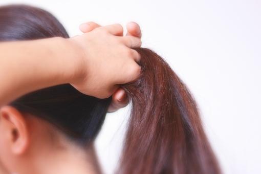 外的要因による脱毛