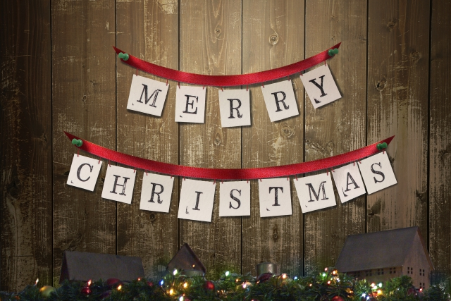 クリスマス用のガーランド