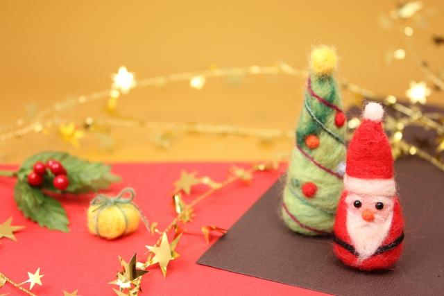 フェルトを使ったクリスマスツリー
